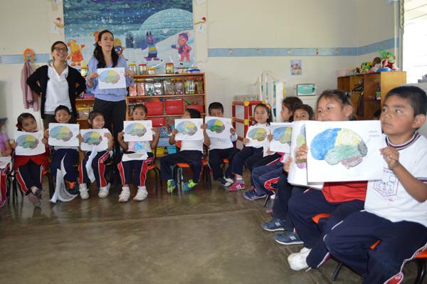 Classroom visits from the Universidad Veracruzana in Mexico