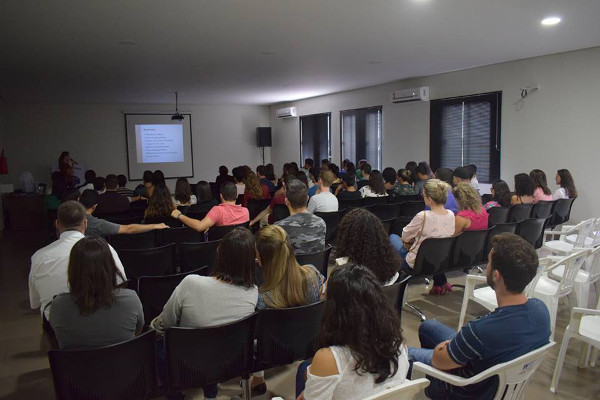 A lecture organized for BAW by Universidade Federal de Mato Grosso-Sinop in Brazil