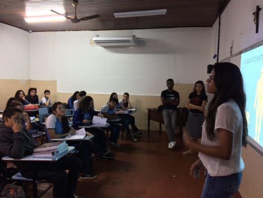 A presentation organized by Universidade Federal do Pará in Belém, Brazil
