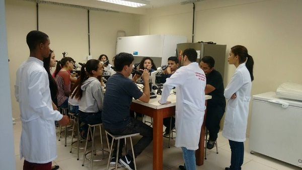A short course on neural histology at en event organized by Universidade Federal do Sul e Sudeste do Pará in Brazil