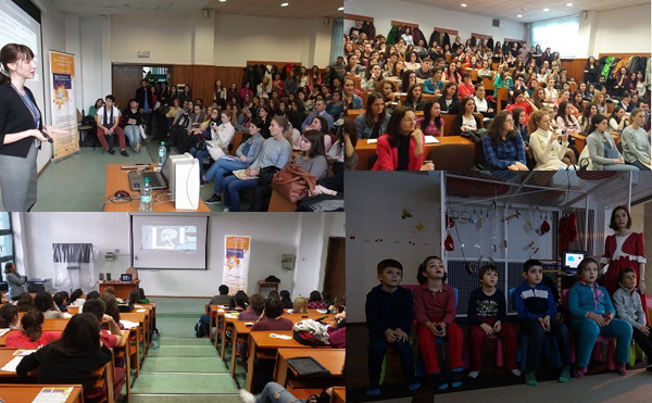 Different BAW activities at the University of Bucharest in Romania