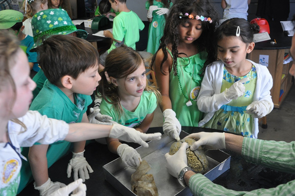 St. Patrick's Day and Brain Awareness Week coinciding at the University of California, Los Angeles