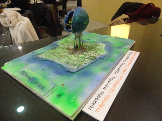 Artwork created for Brain Awareness Week at the University of Patras in Greece