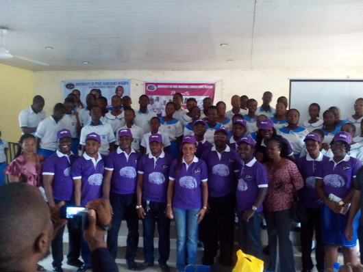 BAW particpants at the University of Portharcourt in Nigeria