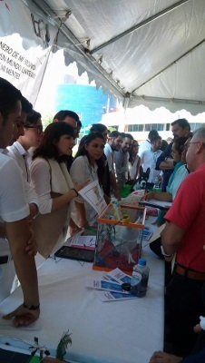 People learn about the brain at CUSUR 2017 Brain Week organized by University Center of South in Mexico