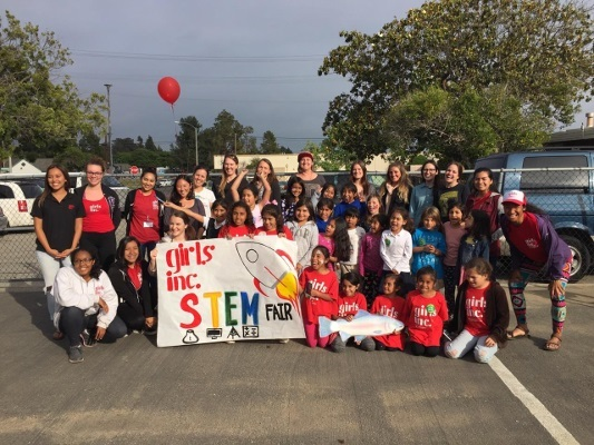 Girls, Inc. STEM Fair organized by University of California Santa Barbara
