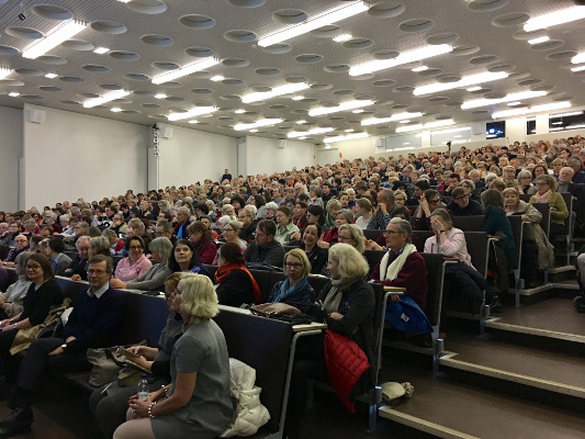 Public seminar organized by the University of Helsinki in Finland