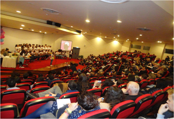 The audience at a BAW event organized by the Department of Biology at the University of Patras in Greece