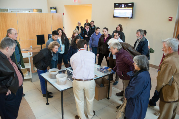 A lecture and demonstration for BAW by Dr. Michael Fox organized by Virginia Tech Carilion Research Institute in Virginia