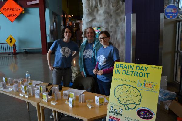 Brian Day organized by Wayne State University in Detroit, Michigan