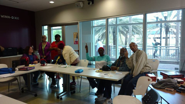 A brain health event for seniors organized by YMCA of Florida's First Coast in Jacksonville, Florida