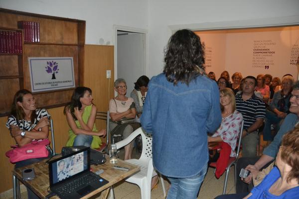 A lecture organized by idio+delfabro in Argentina