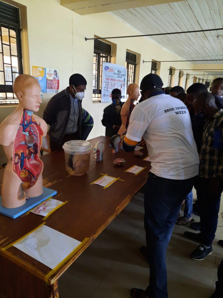 Exhibition organized by Kampala International University Uganda in Africa.