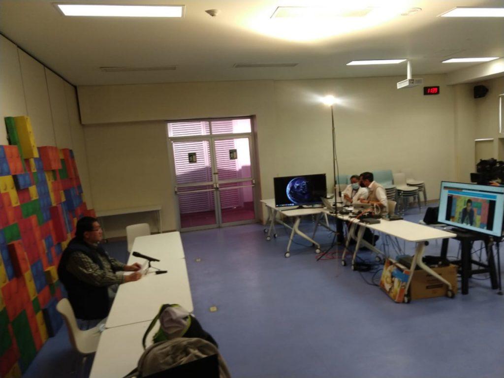 Opening event of BAW organized by the Laboratorio de Investigación en Neurociencias del Hospital Infantil de México Federico Gómez in Mexico.
