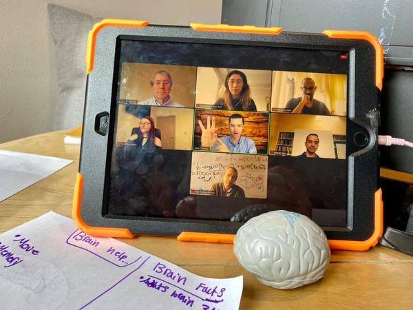 Neuroscientist panel during the 2021 Virtual University of Washington BAW Open House.