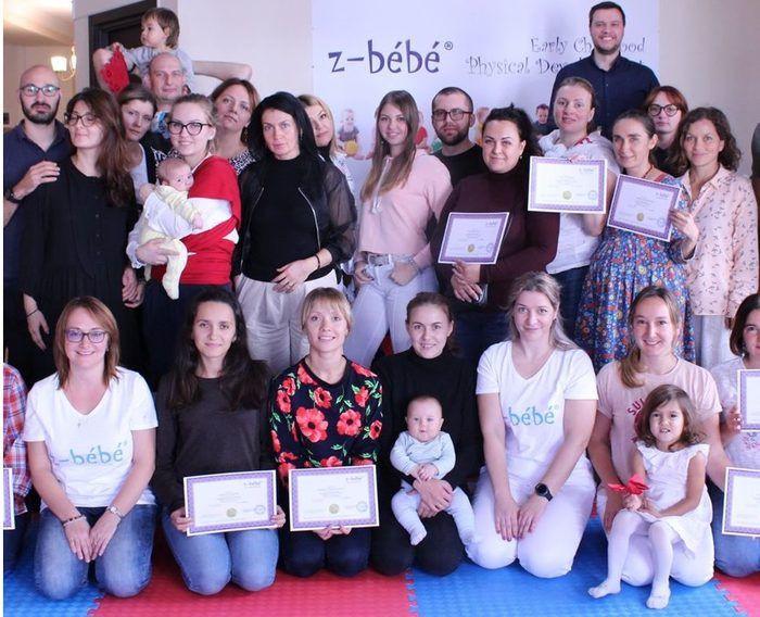 Working session organized by z-bébé® Program in Tbilisi, Georgia.