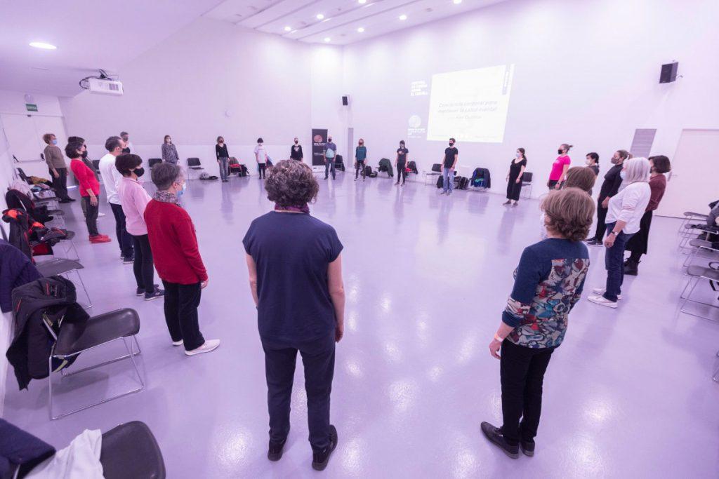 Workshop organized by Brain Film Fest in Spain.