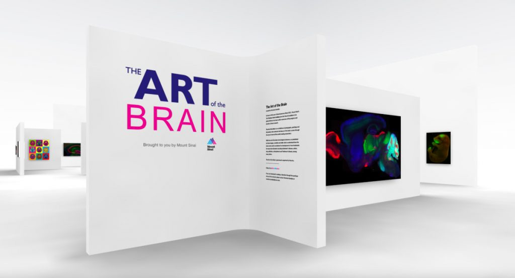 """The """"Art of the Brain"""" virtual gallery organized by Mount Sinai School of Medicine in New York."""