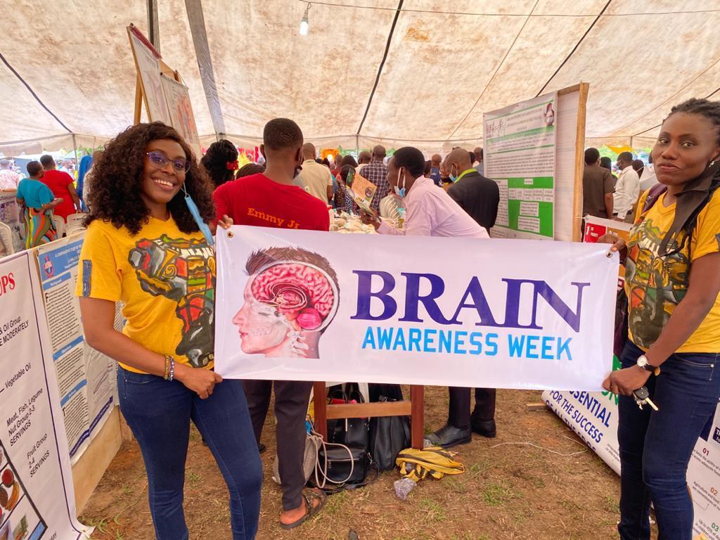 Brain Awareness Week event organized by the University of Calabar in Nigeria.
