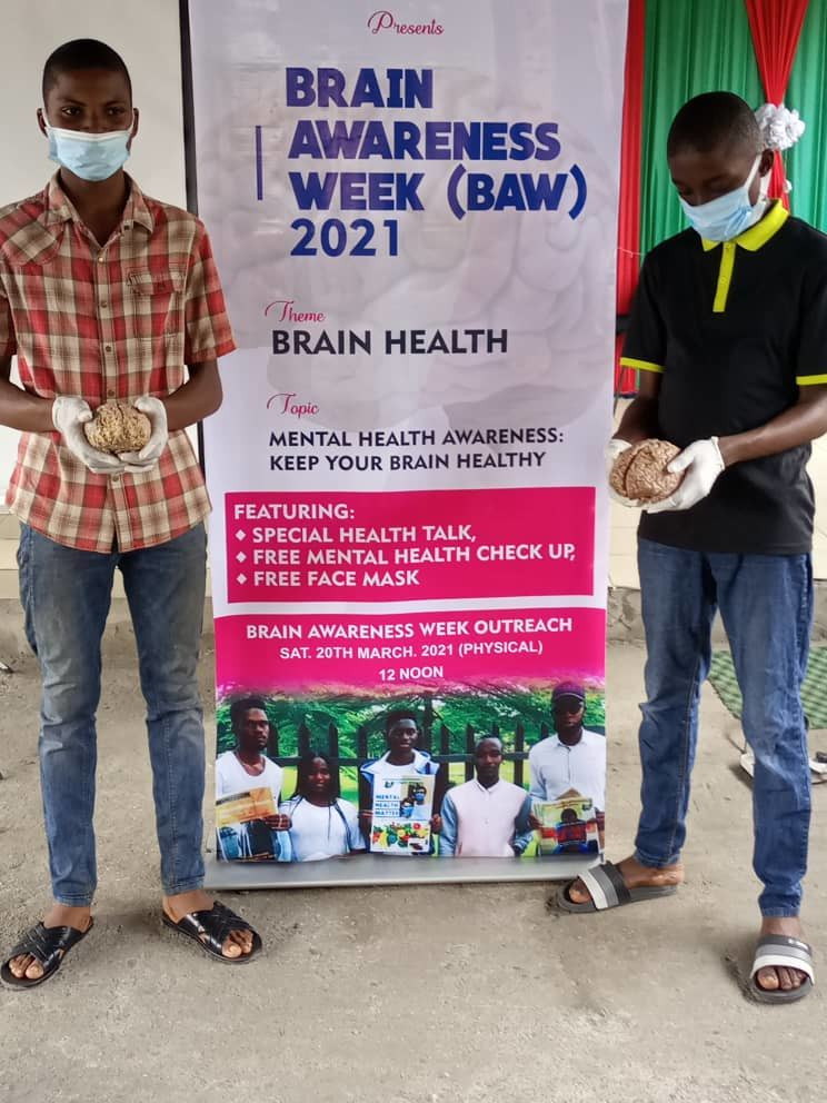 Event on mental health awareness organized by the University of Portharcourt in Nigeria.